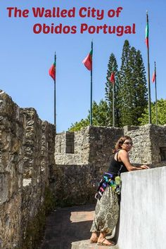 Obidos is a charming and colourful medieval village in #Portugal surrounded by a fully intact roman wall. via @Rhondaalbom