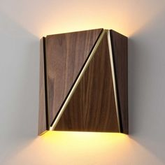 Cerno Calx LED Wood Wall Sconce - Modern Design & UL listed | ItsThyme…