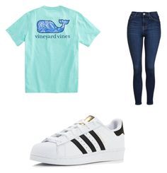 """Whatever I just wear it outfit"" by cbr-style on Polyvore featuring Topshop and adidas"