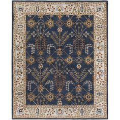 With a dainty and fun pattern and bold coloring, this timeless rug brings a mix of classic charm and contemporary decor. Blending traditional construction...
