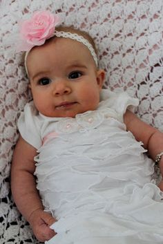 Chicy Creations: blessing dress, says she'll post more about it later Blessing Dress, Parenting Ideas, Baby Time, Sock Shoes, Bibs, Baby Pictures, Dress Ideas, Christening, Hair Bows