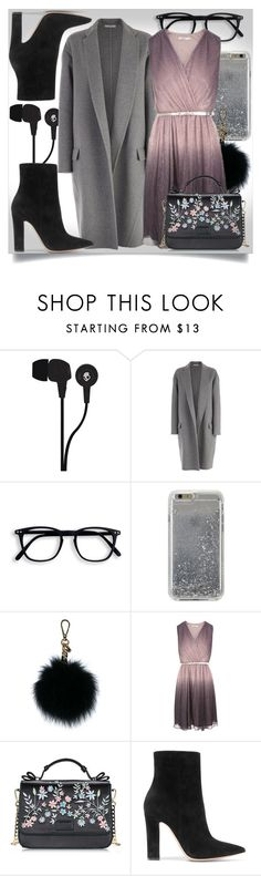 """Untitled #537"" by lizsatt ❤ liked on Polyvore featuring Skullcandy, CÉLINE, Agent 18, MICHAEL Michael Kors and Gianvito Rossi"