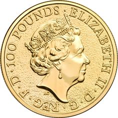 2017 UK Queen's Beasts The Griffin 1oz Gold Coin (Image 2)