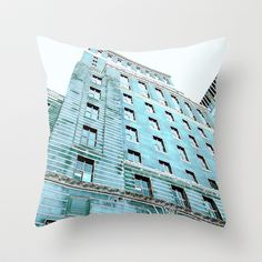 Montreal 8278 Throw Pillow by Korok Studios - $20.00