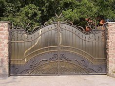 кованые ворота   Ворота кованые, ворота вездные, ворота ...