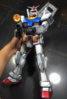 Custom Build: Mega Size RX-78-2 Gundam [Anime Art Paint Job] - Gundam Kits Collection News and Reviews