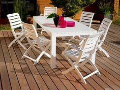 étonnant salon de jardin en eucalyptus | Décoration française in ...