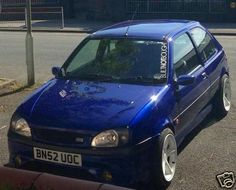 2002 FORD FIESTA ZETEC S BLUE NO TURBO XR2I RS1800 - http://www.fordrscarsforsale.com/514