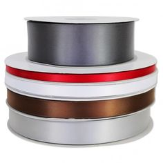 Single Face Satin - on special form $5.51 for 100 yards, order now for the holidays!