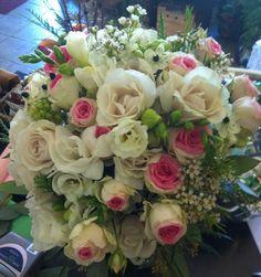 Bouquet de mariée style shabby chic