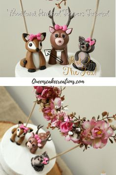 Woodland Animals Toppers Part 2: The Fox!