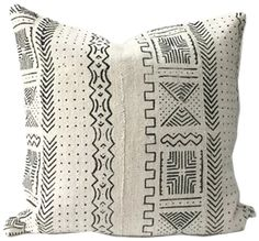 African Mudcloth Pillow Cover - See more at: https://www.decorist.com/finds/72285/african-mudcloth-pillow-cover/