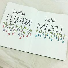 bullet journal front page