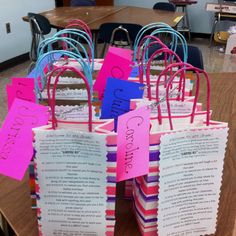 These are survival kits for middle school, cute for 5th grade departures or for the first day of 6th grade. Meets Teaching Standard Element 1.4: Teachers acquire knowledge of individual students from students, families, guardians, and/or caregivers to enhance student learning.