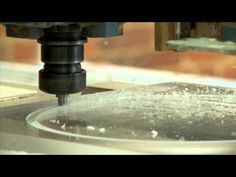 (Posted from cncmachinings.com)   CNC Router Machining and Cutting 1.5″ thick acrylic circles. Video Rating: 4 / 5  eight-Fold-Combination-Mill (8-FKF) This combinations mill is developed for operating with acrylic glass, wood, plastics and compound components. It's higher flexibili… Video Rating: / five   Read more on http://www.cncmachinings.com/cnc-router-machining-clear-acrylic/