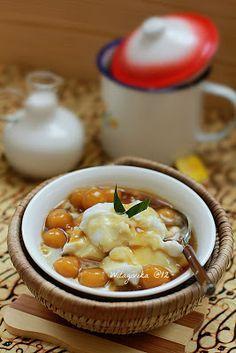 BUBUR SUMSUM BIJI SALAK #IndonesianFood #makanan #Indonesia. Good food to break fast.