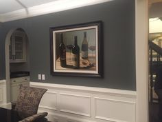 Best Benjamin Moore Amherst Gray Cabinets Bobbye Lake House 640 x 480