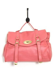 Pink Satchel - so cute & perfect for summer