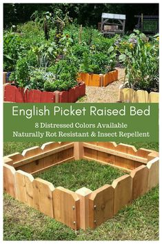 I love this cottage style garden bed! It could add some style to my garden. I know that growing my own organic food has many benefits: superior flavor, more varieties, healthier eating, more minerals & nutrients, outdoor exercise, reduction in food waste & it would save me money going to the grocery store! And this raised bed will help me get there! #ad #garden #gardening #raisedbed #gardenbed #organicfood