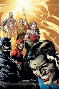 Des variant covers aux couleurs du Joker pour le mois de juin