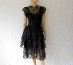 Vintage 80s dress