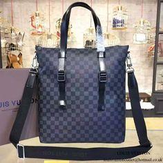 Louis Vuitton N41456 Skyline Tote Briefcase Damier Graphite Canvas a81ee9e80613e