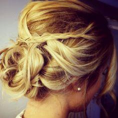 wedding #updo #blonde #hair