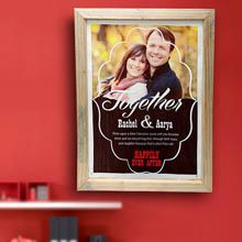 A good gift for husband: Happily Ever After Personalized Wall Hanging