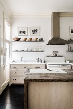 Modern neutral kitchen