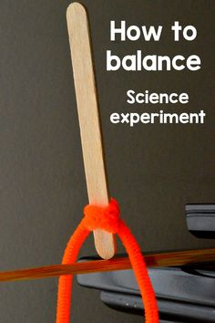 Gravity & Balance Experiment   Neat Trick, Cool Science