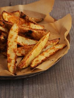 Spicy Oven Fries — Meats and Sweets