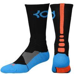 cacd645f0d2 Nike KD Hyper Elite Crew Socks - Men s - Black Photo Blue Team Orange.  Elite SocksKevin DurantFoot ...