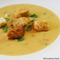 Gooseberry Patch Recipes: Beer-Cheese Soup from Game-Day Fan Fare