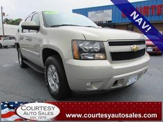 2007 CHEVROLET TAHOE -- 3rd ROW! -- NAVIGATION! -- Rear ENTERTAINMENT! -- -- Price INCLUDES A 3 MONTH/3,000 Mile WARRANTY! -- CALL TODAY! * 757-424-6404 * FINANCING AVAILABLE! -- Courtesy Auto Sales SPECIALIZES In Providing You With The BEST PRICE On A USED CAR, TRUCK or SUV! -- Get APPROVED TODAY @ courtesyautosales.com * Proudly Serving Your USED CAR NEEDS In Chesapeake, Virginia Beach, Norfolk, Portsmouth, Suffolk, Hampton Roads, Richmond, And ALL Of Virginia SINCE 1976!