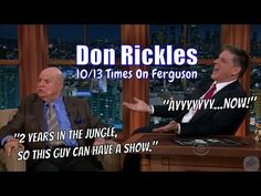 Don Rickles - It's An Honor To Be Insulted By Him - 10/13 Visits In Chronological Order [A Tribute] - YouTube