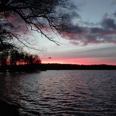 Słońce zaszło już nad Trzesieckiem :( foto: Krzysztof Olszewski