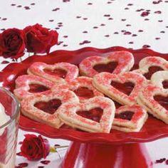 Sweetheart Coconut Cookies