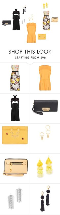 """Like My Dress..##"" by yagna ❤ liked on Polyvore featuring Oscar de la Renta, Valentino, Proenza Schouler, ZAC Zac Posen, Charlotte Olympia, Amber Sceats, Marc Jacobs, Misa, DANNIJO and Lizzie Fortunato"