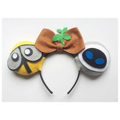 WALL-E themed Minnie Ears by ComicGeekOut on Etsy