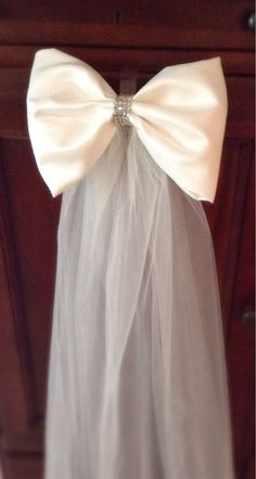 Pew bows made with high quality satin fabric and by Weddingroom, $14.00
