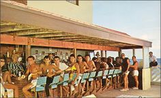 Castaways Motel and bar, 1960s - Miami Archives - Tracing the rich history of Miami, Miami Beach and the Florida Keys