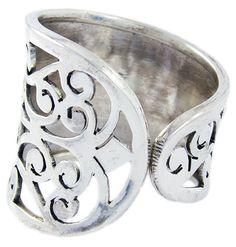 MILLY: 'Gateway to Heaven' is what Freyja likes to nickname this ring. Handmade & adjustable for 599 SEK on www.freyjaofstockholm.com