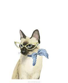 Cool Cat II Art Print