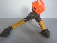 Nerf N-Strike Vulcan EBF-25 Tripod Replacement Gun Stand Accessory Yellow #Hasbro