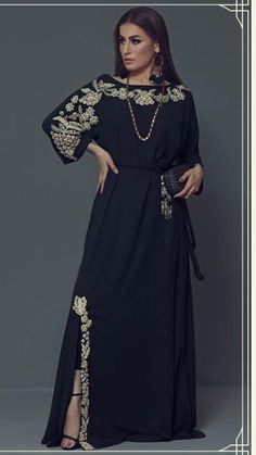 Items similar to Evening Gown/Party Dress- Black long dress, women clothing, on Etsy Abaya Fashion, Modest Fashion, Fashion Dresses, Pakistani Dresses, Indian Dresses, Velvet Dress Designs, Mode Abaya, Caftan Dress, Indian Designer Wear
