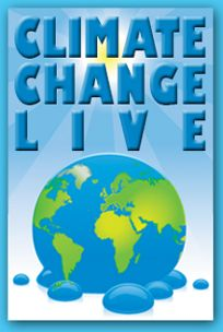Check out ClimateChangeLIVE!!!  March 5, 2014  Streamed live beginning 1 pm. Eastern Time  Archive available after March 5    Get your students engaged in the topic of climate change and excited about what young people can do to help! This webcast will introduce classes to the basic science of climate change, foster a dynamic online discussion, and show how students are making a difference in addressing climate change issues.  Learn more today!