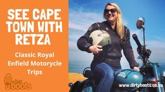 Adventure Activities, Enfield Motorcycle, Motorcycle Travel, Best Commercials, Video Channel, Cape Town, Summer Days, South Africa