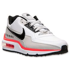 sale retailer cb45e 20267 Men s Nike Air Max IVO Leather Running Shoes   Finish Line    White Anthracite