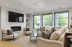 Modern Family Rooms, Home And Family, Custom Home Builders, Custom Homes, Dream Home Builder, Luxury Homes, Luxury Houses