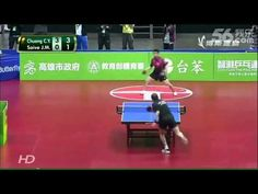 The most humorous table-tennis match ever, also teach us to have fun